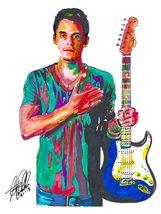 "John Mayer, Guitar, Vocals, Blues, Rock, Acoustic, Music, 18""x24"" Art Print - $19.99"