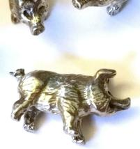 PIG FIGURINE CAST WITH FINE PEWTER - Approx. 1/2 inches tall  (T153) image 4