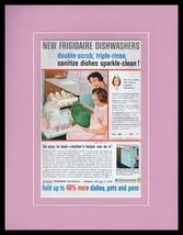 1959 Frigidaire Dishwashers Framed 11x14 ORIGINAL Vintage Advertisement - $49.49