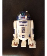 Star Wars R2D2 Robot Action Figure 2004 LFL Hasbro 2.5 inch white plasti... - $9.87