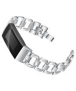 fitness tracker Stainless Steel Diamond Bracelet - $17.98