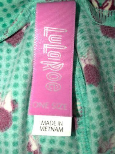 LuLaRoe Disney Minnie Mouse Green Leggings Women's OS One Size (2-10) NEW.  N8 image 8