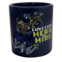 Luke Cage Hero for Hire Mug Black - $21.98