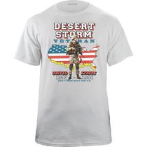 Vintage Desert Storm Veteran Concert Style T-Shirt - $20.78+
