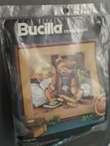 Heirloom Bear Needlepoint Kit 1992 Bucilla Designed by Nancy Rossi  NEW - $24.70
