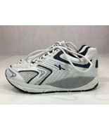 Xelero X35815D White/Black Matrix Mesh Lace Up Sneakers Men's US Size 9.5 - $46.41