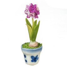 DOLLHOUSE MINIATURES ALIUM IN POT #G7815 - $9.50