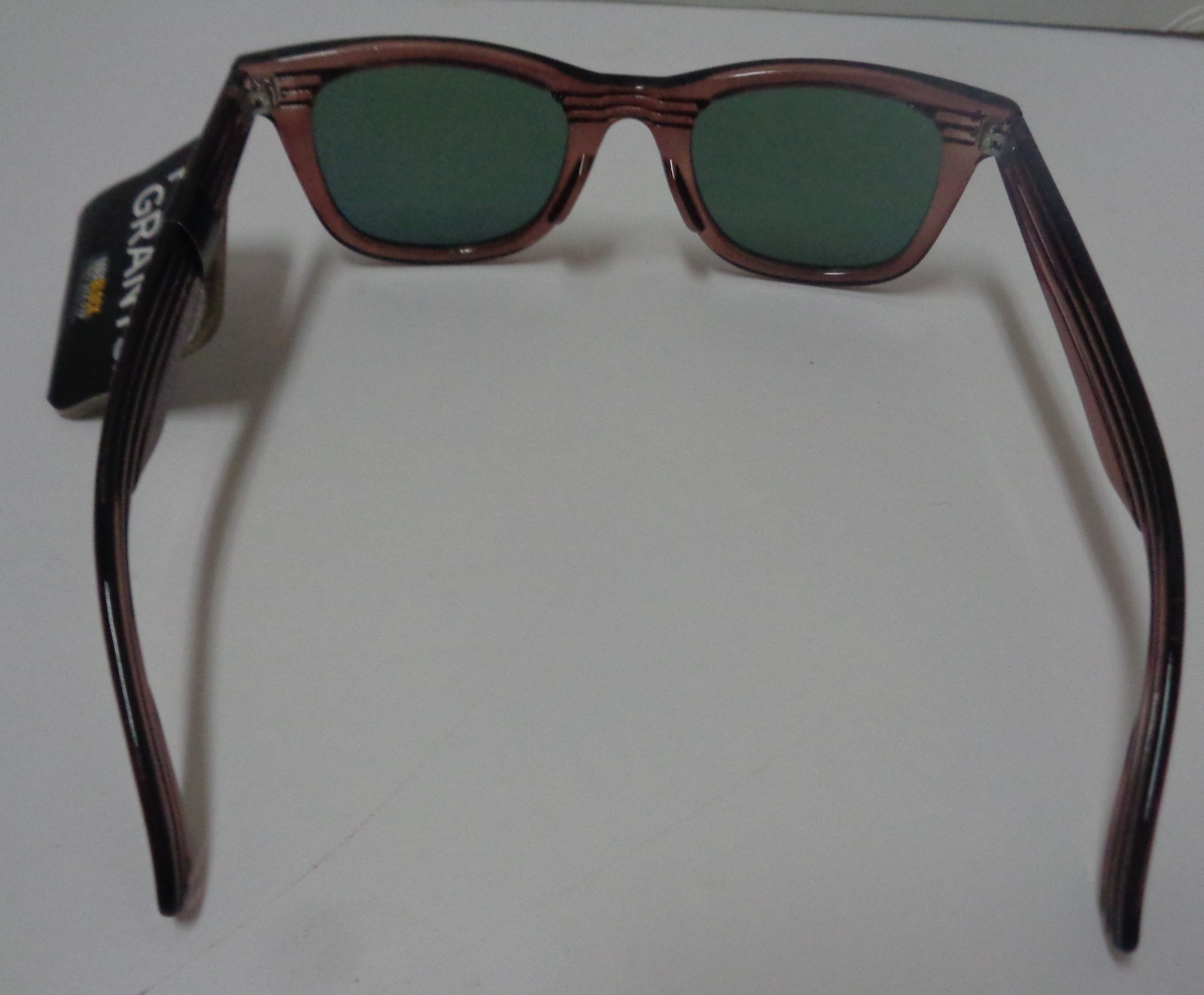 Foster Grant Sunglasses Wood Design Frame Mirrored NWT 100% UVA UVB Protection image 4