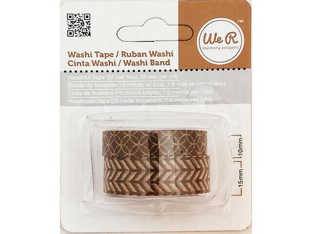 We R Memory Keepers Hazelnut Washi Tape #42423-9