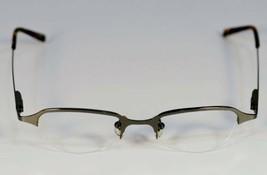 Fossil EMPIRE Shiny Gunmetal Metal  Eyeglass Frames Designer Style Rx Eyewear - $9.12