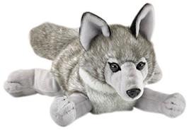 Wildlife Artists Wolf Stuffed Animal Lying Plush Toy - $16.80
