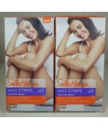 Lot of 2 Sally Hansen Hair Remover Insta Wax Strips For Body Large 32 St... - $19.79