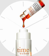 Philosophy Time In A Bottle Daily AGE-DEFYING Serum 1.3 Oz Box Set! New! - $46.54