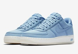 NEW Nike Air Force 1 Low Retro QS Canvas December Sky Shoes AH1067-401 S... - $108.89