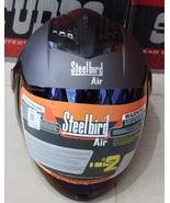 STEEL BIRD AIR SBA 2 MATT BLACK POLY CARBONATE FULL FACE HELMET - $68.75