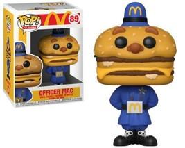 McDonald's Officer Mac Ad ICON Vinyl POP Figure Toy #89 FUNKO NEW MIB - $8.79