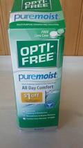 Opti Free Pure Moist All Day Comfort 10 FL oz w/Free Lense Case NIB - $13.09