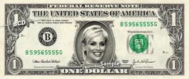 SHARON STONE on a REAL Dollar Bill Cash Money Memorabilia Collectible Ce... - $8.88