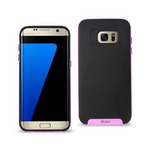 REIKO SAMSUNG GALAXY S7 SLIM ARMOR CASE WITH BUMPER FRAMES IN BLACK PINK - $9.49