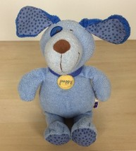 "2004 Manhattan Toy Baby Blue Puppy Dog Plush 9"" Pokie Dot - $17.81"