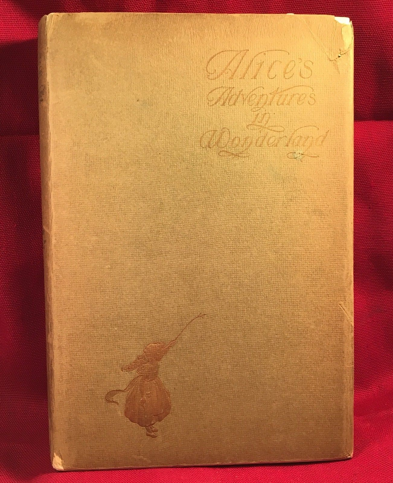 Lewis Carroll Alice's Adventures in Wonderland 1901 Peter Newell-Jacket