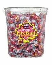 Atomic Fireballs Candy 4.05 Pound Bulk Tub New - $34.04