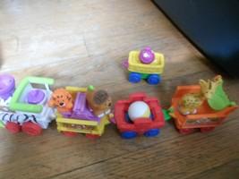 Little People Musical Safari train set w 5 figures, + 2 xtra train cars - $18.79