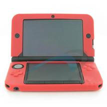 Assecure Soft Gel Silicone Cover Case For Nintendo 3DS XL - Red - $3.95