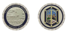 "ARMY DPG DUGWAY PROVING GROUNDS  MILITARY 1.75"" CHALLENGE COIN - $16.24"