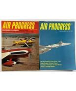 Vintage Lot of 2 AIR PROGRESS Aviation Airplane Magazines of 1966 - $12.86