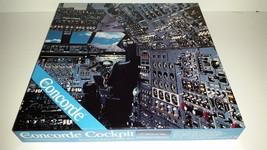 "NorDevCO CONCHORD COCKPIT 18"" X 24"" 600 piece puzzle COMPLETE/NICE SHAPE! - $19.95"