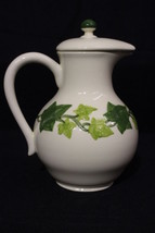 """Vintage Franciscan Hand Painted IVY Pattern 9"""" Coffee Pot w/Lid, No Trim... - $79.99"""