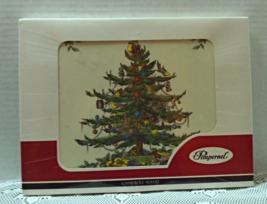 Vintage Pimpernel Spode Christmas Tree Casserole Stand Trivet - $10.50