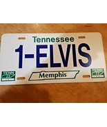ELVIS Memphis Tennessee 1-ELVIS License Plate NICE Plastic - $14.84
