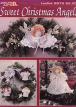 Sweet Christmas Angels 6 Designs LA2679 Crochet PATTERN/INSTRUCTIONS Booklet - $2.67