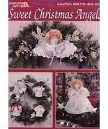 Sweet Christmas Angels 6 Designs LA2679 Crochet PATTERN/INSTRUCTIONS Boo... - $2.67