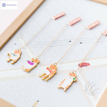 Creative Happy Dog Pendant Bookmark Stationery School Office Supply Esco... - $2.68