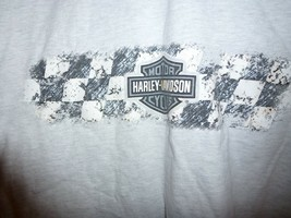 2005 Frontier Harley Davidson Lincoln NE Gray Short Sleeve T Shirt, Size... - $19.75