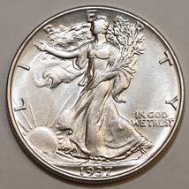 1937 P Walking Liberty Half Dollar - Gem BU / MS / UNC - $62.00