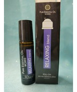 Pure Essential Oil RELAXING BLEND Roll-on Lavender Chamomile Aromatherap... - $9.39