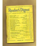 World war II Era READER'S DIGEST Magazine, March, 1942 - Good Condition. - $4.50