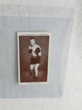 1938 Churchman's Cigarettes Boxing Personalities #19 Frank Hough M2 - $4.95