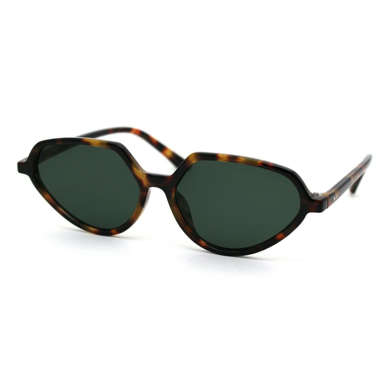 Womens Retro Vintage Style Thin Plastic Fashion Sunglasses