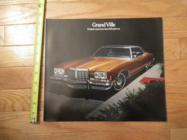 Pontiac Grand Ville 1974 car Auto Dealer showroom Sales Brochure - $8.99