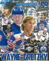 WAYNE GRETZKY COLLAGE 8X10 PHOTO HOCKEY BLUES KINGS OILERS RANGERS NY PI... - $3.95