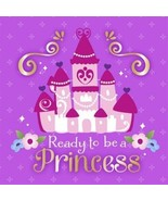 Sofia The First Princess Birthday 16 Ct Purple Luncheon Napkins - $3.89