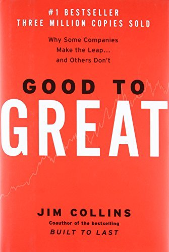 Primary image for Good to Great: Why Some Companies Make the Leap and Others Don't [Hardcover] Jim