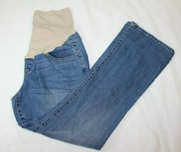 Old Navy Maternity Womens Jeans Size 14 Full Belly Panel Boot Cut Casual  - $24.74