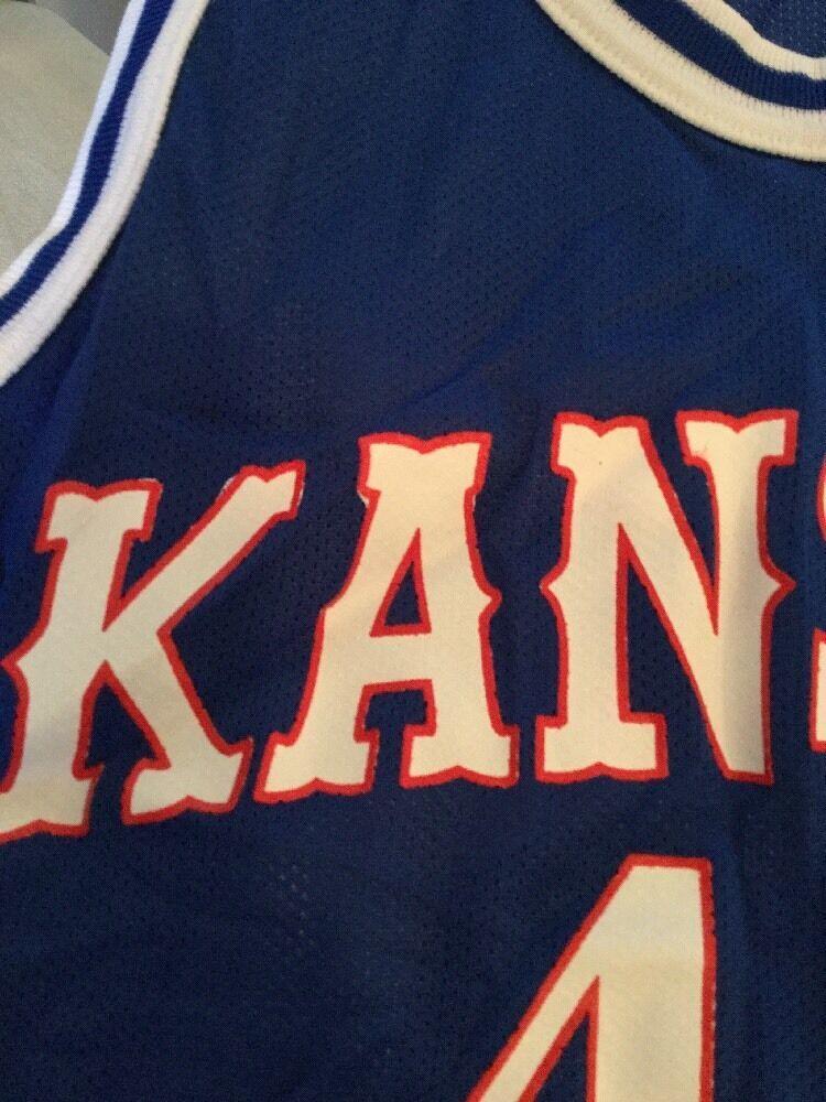 online store 32a01 3d50b Kansas Jayhawks Blue Champion Jersey #45 and 50 similar items