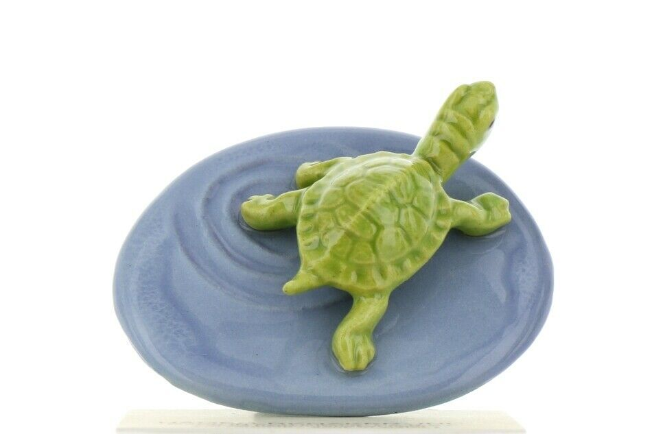 Hagen Renaker Miniature Turtle Pond Ceramic Figurine